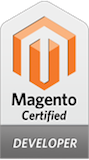 Nathanial Reinagel - Certified Magento Backend Developer Badge
