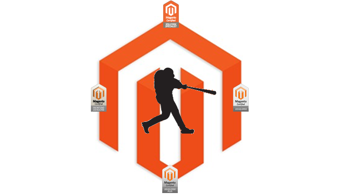 Magento Certified Grand Slam Badge